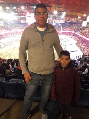 Lee G  attended Monster Jam Triple Threat Series on Feb 28th 2020 via VetTix