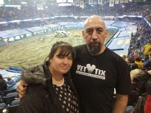 Jose attended Monster Jam Triple Threat Series on Feb 28th 2020 via VetTix
