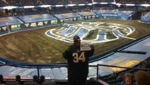 Alvis Hudson attended Monster Jam Triple Threat Series on Feb 28th 2020 via VetTix