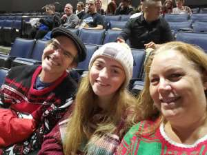 Suzanne attended Lindsey Stirling - Warmer in the Winter Christmas Tour 2019 on Dec 14th 2019 via VetTix
