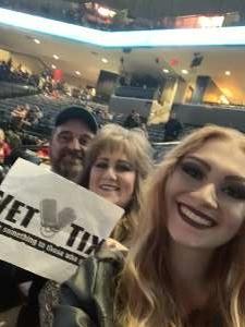Steve attended Lindsey Stirling - Warmer in the Winter Christmas Tour 2019 on Dec 14th 2019 via VetTix