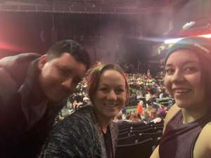 J attended Lindsey Stirling - Warmer in the Winter Christmas Tour 2019 on Dec 14th 2019 via VetTix
