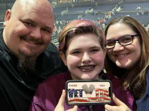 Ryan attended Lindsey Stirling - Warmer in the Winter Christmas Tour 2019 on Dec 14th 2019 via VetTix