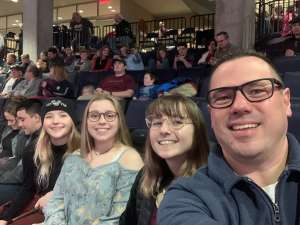 Robert attended Lindsey Stirling - Warmer in the Winter Christmas Tour 2019 on Dec 14th 2019 via VetTix