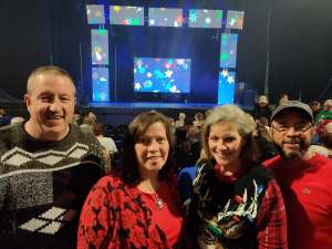 Chris attended Holiday Dreams - a Spectacular Holiday Cirque on Dec 22nd 2019 via VetTix