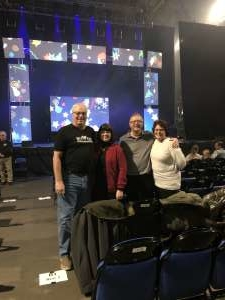 David attended Holiday Dreams - a Spectacular Holiday Cirque on Dec 22nd 2019 via VetTix