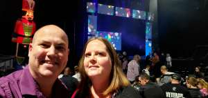Joe attended Holiday Dreams - a Spectacular Holiday Cirque on Dec 22nd 2019 via VetTix