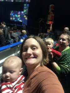 Rachael attended Holiday Dreams - a Spectacular Holiday Cirque on Dec 22nd 2019 via VetTix