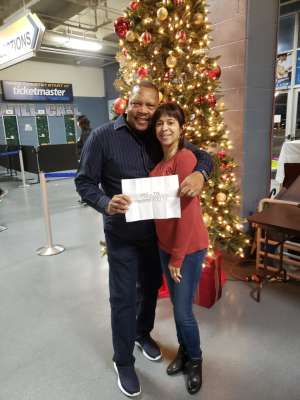 Stanley attended Holiday Dreams - a Spectacular Holiday Cirque on Dec 22nd 2019 via VetTix