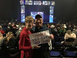 James attended Holiday Dreams - a Spectacular Holiday Cirque on Dec 22nd 2019 via VetTix