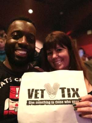 Carlos Butler attended Los Angles Ballet Performs the Nutcracker on Dec 24th 2019 via VetTix