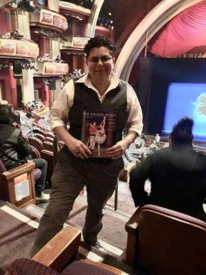 Gina attended Los Angles Ballet Performs the Nutcracker on Dec 24th 2019 via VetTix