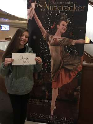 Mike attended Los Angles Ballet Performs the Nutcracker on Dec 24th 2019 via VetTix