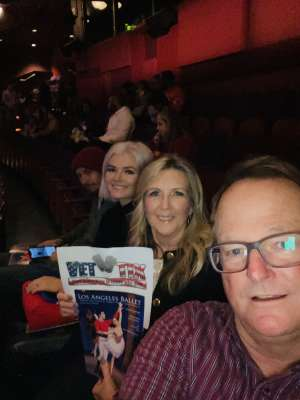 Chief attended Los Angles Ballet Performs the Nutcracker on Dec 24th 2019 via VetTix