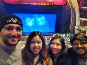 Roham attended Los Angles Ballet Performs the Nutcracker on Dec 24th 2019 via VetTix