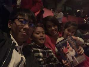 Misha attended Los Angles Ballet Performs the Nutcracker on Dec 24th 2019 via VetTix