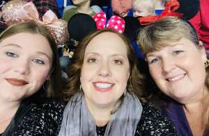 Lori attended Disney on Ice Presents Worlds of Enchantment on Jan 9th 2020 via VetTix
