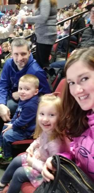 Charles attended Disney on Ice Presents Worlds of Enchantment on Dec 28th 2019 via VetTix