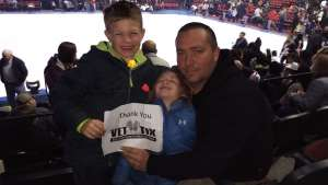 Kimberly attended Disney on Ice Presents Worlds of Enchantment on Dec 28th 2019 via VetTix