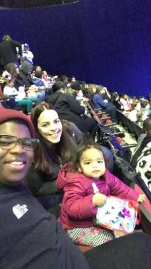 Samantha attended Disney on Ice Presents Worlds of Enchantment on Dec 28th 2019 via VetTix