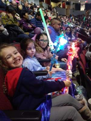 Dean attended Disney on Ice Presents Worlds of Enchantment on Dec 28th 2019 via VetTix