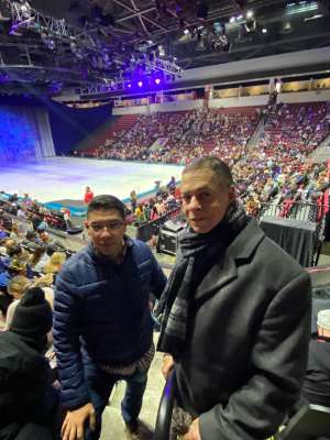 Anthony attended Disney on Ice Presents Worlds of Enchantment on Dec 28th 2019 via VetTix