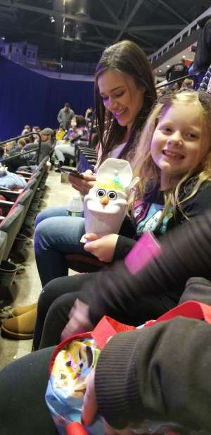 Faith attended Disney on Ice Presents Worlds of Enchantment on Dec 28th 2019 via VetTix