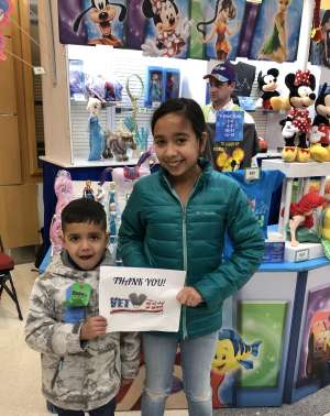 Hector attended Disney on Ice Presents Worlds of Enchantment on Dec 28th 2019 via VetTix