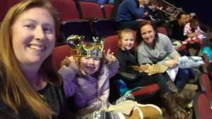 Stephanie attended Disney on Ice Presents Worlds of Enchantment on Dec 28th 2019 via VetTix