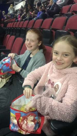 Kasey attended Disney on Ice Presents Worlds of Enchantment on Dec 28th 2019 via VetTix