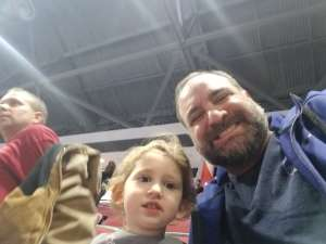 fred attended Disney on Ice Presents Worlds of Enchantment on Dec 28th 2019 via VetTix