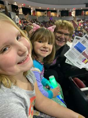heather attended Disney on Ice Presents Worlds of Enchantment on Dec 28th 2019 via VetTix