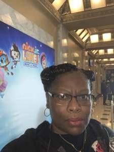 Pamela attended Nick Jr. Live! Move to the Music on Jan 11th 2020 via VetTix