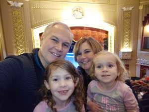 James attended Nick Jr. Live! Move to the Music on Jan 11th 2020 via VetTix