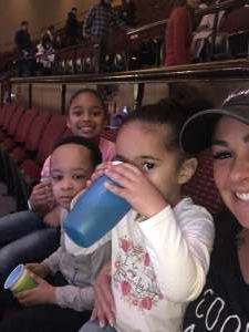 Amber attended Nick Jr. Live! Move to the Music on Jan 12th 2020 via VetTix