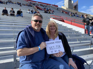John attended 2019 Nova Home Loans Arizona Bowl: Georgia State Panthers vs. Wyoming Cowboys on Dec 31st 2019 via VetTix