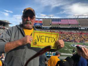 Donald attended 2019 Nova Home Loans Arizona Bowl: Georgia State Panthers vs. Wyoming Cowboys on Dec 31st 2019 via VetTix