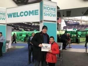 Rodney attended 2020 Minneapolis Home + Remodeling Show on Jan 24th 2020 via VetTix