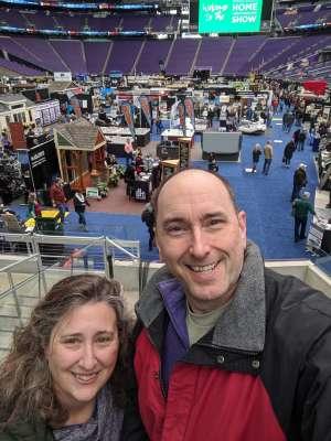 Matt attended 2020 Minneapolis Home + Remodeling Show on Jan 24th 2020 via VetTix