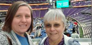 Val attended 2020 Minneapolis Home + Remodeling Show on Jan 24th 2020 via VetTix