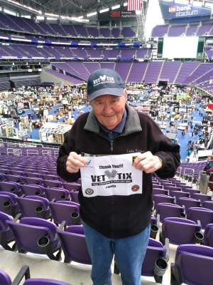 Jerome attended 2020 Minneapolis Home + Remodeling Show on Jan 24th 2020 via VetTix