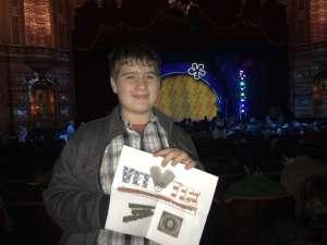 William attended The Spongebob Musical on Dec 24th 2019 via VetTix