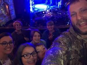 Jesse attended The Spongebob Musical on Dec 24th 2019 via VetTix