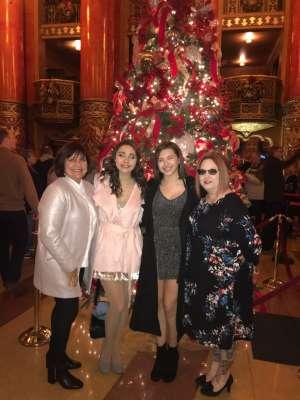 Jacque attended The Spongebob Musical on Dec 24th 2019 via VetTix
