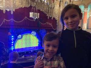 Paola attended The Spongebob Musical on Dec 24th 2019 via VetTix