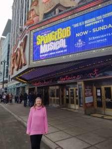 Dale attended The Spongebob Musical on Dec 24th 2019 via VetTix