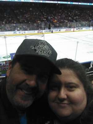 Shaunee attended Jacksonville Icemen vs. Brampton Beast - ECHL on Jan 11th 2020 via VetTix