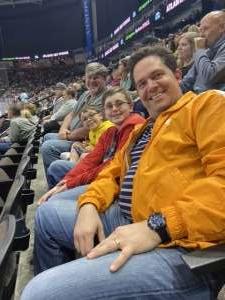 David attended Jacksonville Icemen vs. Brampton Beast - ECHL on Jan 11th 2020 via VetTix
