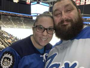 Frederick attended Jacksonville Icemen vs. Brampton Beast - ECHL on Jan 11th 2020 via VetTix