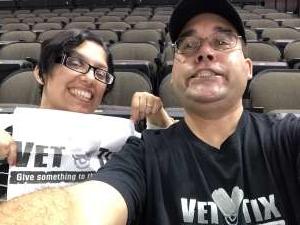 Ruben attended Jacksonville Icemen vs. Brampton Beast - ECHL on Jan 11th 2020 via VetTix
